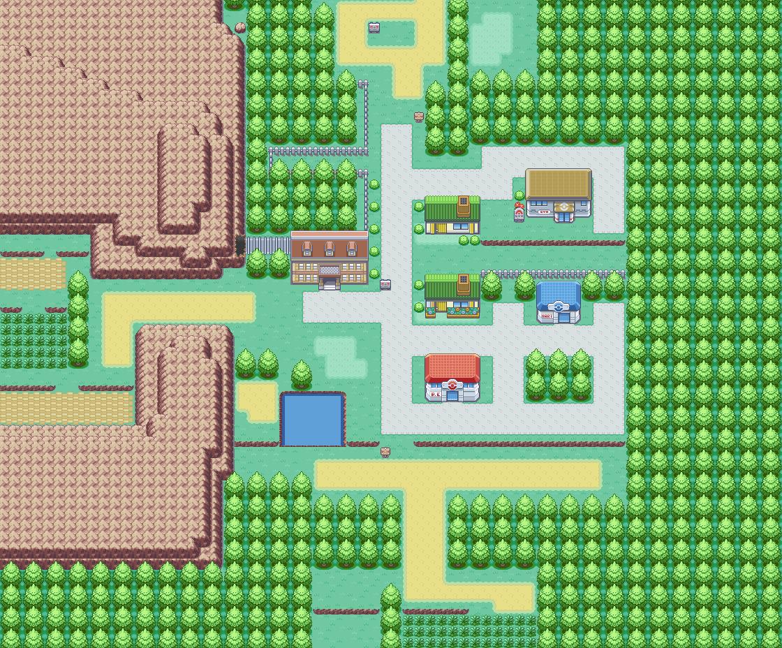 File:Viridian City Map.png - Pokemon World Online Wiki